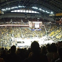 Photo taken at Mizzou Arena by Joe B. on 1/5/2013