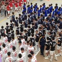 Foto tomada en Colegio Agustiniano Norte por Oscar Alberto B. el 3/23/2013