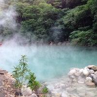 Das Foto wurde bei 地熱谷 Beitou Thermal Valley von KL am 12/7/2013 aufgenommen