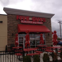 Photo taken at Five Guys by Stacy S. on 10/19/2012