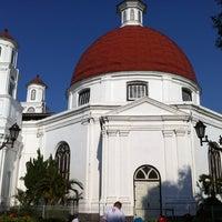 Photo taken at Gereja Blendoeg (GPIB Immanuel Semarang) by Tomy H. on 9/7/2013