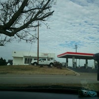Photo taken at Exxon by Aiden K. on 1/10/2013