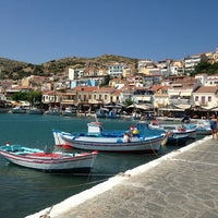 Photo taken at Port of Pythagoreio Harbor by Emre G. on 8/31/2013