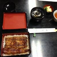 Photo taken at うなぎ屋 川京 by Megumi N. on 2/3/2014