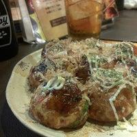 Photo taken at 和楽 たこ焼き焼き鳥専門店 by Atsushi H. on 10/2/2013