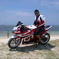 Photo taken at Pantai Ujung Genteng by Prisma B. on 11/17/2012