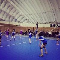 Photo taken at Harry Jerome Sports Center by Owen C. on 11/17/2013