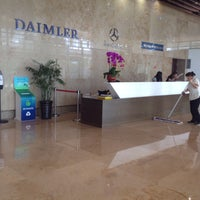 Photo taken at 戴姆勒大厦 Daimler Tower by Fabian K. on 10/19/2016