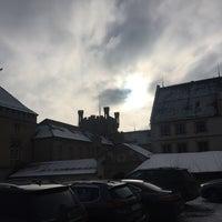 Photo taken at Hotel Schloss Weitenburg by Fabian K. on 1/26/2017