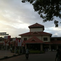 Photo taken at Palakkad Junction (Railway Station) by Nijil M. on 8/24/2013