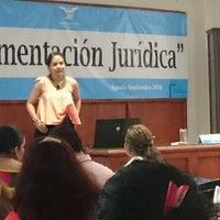 Photo taken at Casa de la cultura jurídica by Claudia W. on 9/7/2016