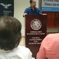 Photo taken at Casa de la cultura jurídica by Claudia W. on 8/13/2016