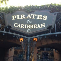 Photo taken at Pirates of the Caribbean by Raúl H. on 12/11/2012