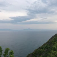 Photo taken at Chikiu-misaki Lighthouse by ごっし on 6/23/2018