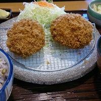 Photo taken at かつ敏 浦和美園店 by あお on 6/11/2016