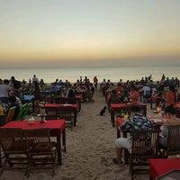 Photo taken at Jimbaran Beach Cafe by Leony Anatasia M. on 8/28/2017