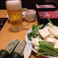 Photo taken at 旬菜しゃぶ重 新瑞橋 by パーマー on 6/20/2014