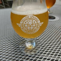 Photo taken at Yellow Springs Brewery by Julie K. on 8/10/2018