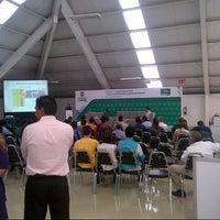 Photo taken at Centro de Convenciones CANACINTRA Sureste Saltillo by Lorenzo Alejandro L. on 9/26/2012