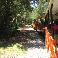 Photo taken at Train At The Brevard Zoo by Grisel S. on 8/9/2013