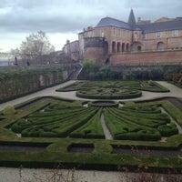 Photo taken at Les Jardins De L'Archeveche by El B. on 12/16/2012