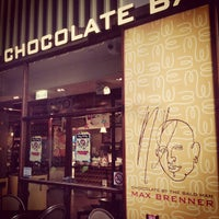 Photo taken at Max Brenner Chocolate Bar by Japh on 11/18/2012