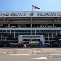Photo taken at Belgrade Nikola Tesla Airport (BEG) by Edis D. on 9/26/2013