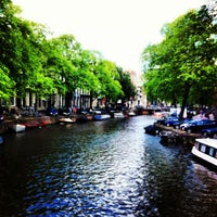 Photo taken at Amsterdam Canals by Gül M. on 8/10/2013