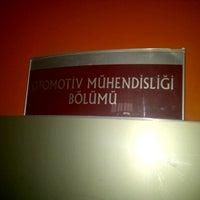 Photo taken at Teknoloji Fakültesi by Mustafa Orhan İ. on 9/27/2012