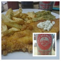 Photo taken at D Fecci & Sons Fish & Chip Shop by Graham C. on 8/20/2016