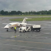 Photo taken at Syamsuddin Noor International Airport (BDJ) by Adrian S. on 12/21/2012