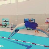 Photo taken at Hayat Merit Life Swimming Pool by Ismail Y. on 2/21/2017