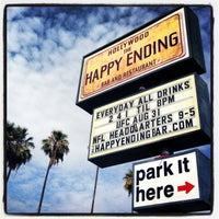 Photo taken at The Happy Ending Bar & Restaurant by Dress for the Date on 8/31/2013