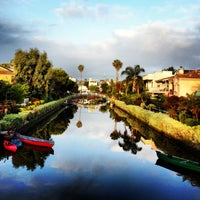 Photo taken at Venice Canals by Dress for the Date on 5/24/2013