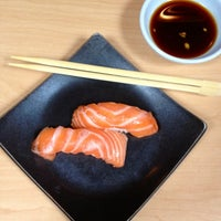 Photo taken at Hama Sushi by Dress for the Date on 7/10/2013