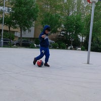 Photo taken at Abdurrahman Temel Futbol Sahası by TC Elvan K. on 5/3/2017