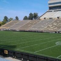 Photo taken at Folsom Stadium Club Level - UCB by Tina S. on 9/22/2012