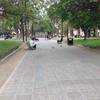 Photo taken at Plaza 9 de Julio by Delfina H. on 10/21/2013