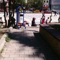 Photo taken at Cumhuriyet Meydanı by Müzeyyen A. on 4/16/2016