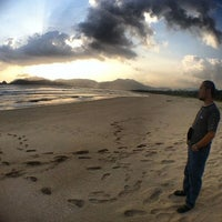 Photo taken at Red Island Beach by Luthfi A. on 11/10/2013