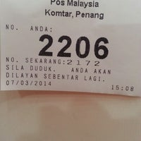 Photo taken at General Post Office (Pejabat Pos Besar) by Fizi P. on 3/7/2014