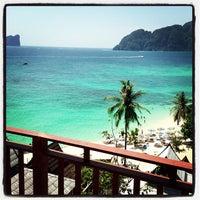 Photo taken at Phi Phi The Beach Resort by Justin K. on 2/11/2013