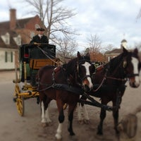 Photo taken at Colonial Williamsburg by Ed V. on 12/23/2012