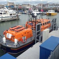 Photo taken at Lowestoft Harbour by Richard G. on 5/10/2014