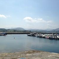 Photo taken at El Puntal by Playas de Asturias on 6/21/2014
