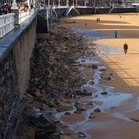Photo taken at Escalera 10 by Playas de Asturias on 2/3/2014