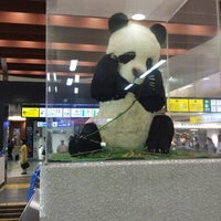 Photo taken at Ueno Station by ばんぶぅ T. on 9/2/2013