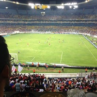 Photo taken at Estadio Jalisco by Alejandro C. on 5/5/2013