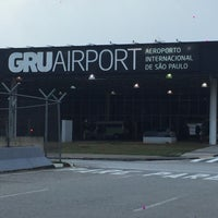 Foto tirada no(a) Aeroporto Internacional de São Paulo / Guarulhos (GRU) por Patricia B. em 6/23/2016