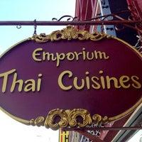 Photo taken at Emporium Thai by Cheryl S. on 4/8/2013